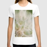 Up close Womens Fitted Tee White SMALL