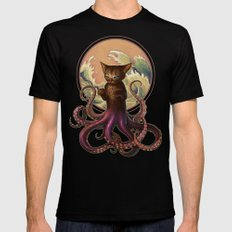 Octopussy Black SMALL Mens Fitted Tee