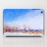 Winter Along The Mississ… iPad Case