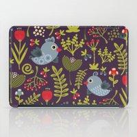 Folk birds.  iPad Case