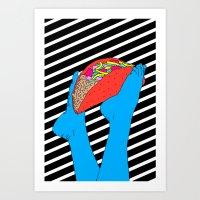 Taco Time Art Print
