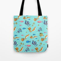 Fox Tales - A Tropical S… Tote Bag