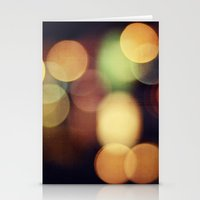 Bokeh life Stationery Cards