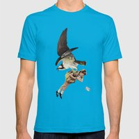 Third Beat II Mens Fitted Tee Teal SMALL