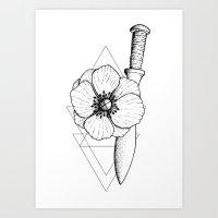 Dot Work Art Print