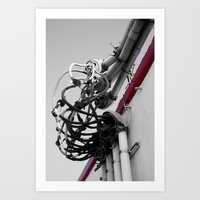 We've Got Our Wires Cros… Art Print