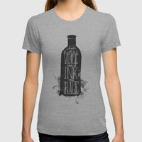 Rum Diary Womens Fitted Tee Athletic Grey SMALL