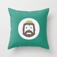 Cyclesquatch Throw Pillow