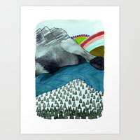 Landscapes / Nr. 4 Art Print