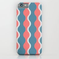 iPhone & iPod Case featuring Midcentury Pattern 05 by BLKSPC