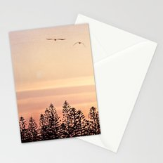 A beautiful day's end Stationery Cards