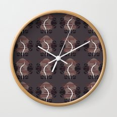 NUTURE pattern Wall Clock
