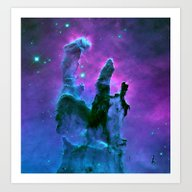 Art Print featuring Nebula by 2sweet4words Designs