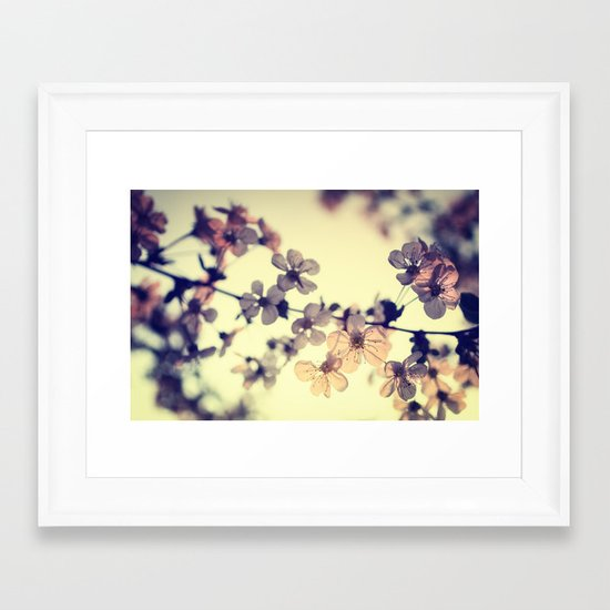 Spring light Framed Art Print