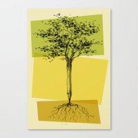 Ideas Don't Grow On Trees Canvas Print
