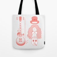 Constructing Destruction Tote Bag