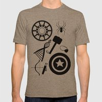 The Avengers Extended Mens Fitted Tee Tri-Coffee SMALL