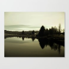 Don't be afraid of the Dark Canvas Print