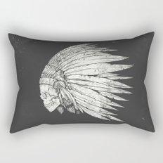 Indian Skull Rectangular Pillow