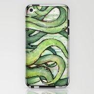 Cthulhu Green Tentacles iPhone & iPod Skin