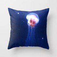 Jelly. Throw Pillow
