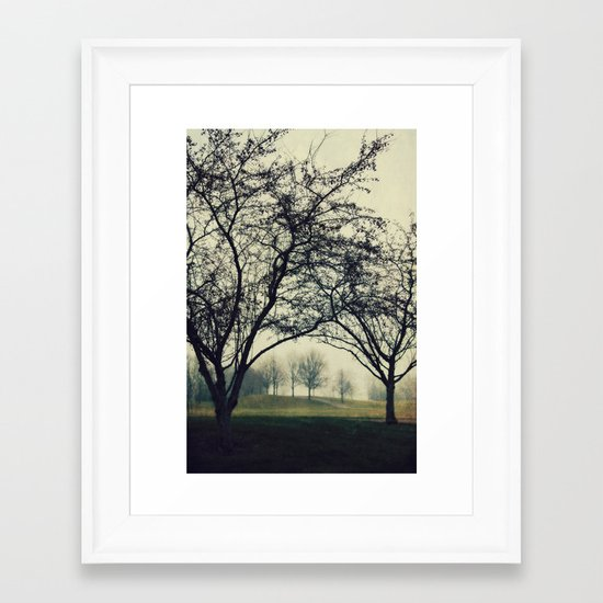 Embracing the Distance Framed Art Print