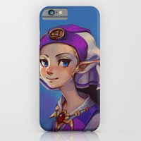 iPhone Cases featuring Princess Zelda by lulles