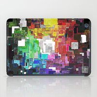 Spectral Geometric Abstract iPad Case