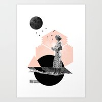 Too Late Art Print