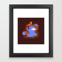 Brick Breaker Framed Art Print
