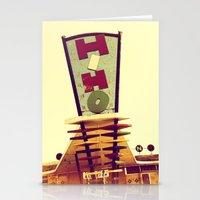 Mid-Century Strip Club S… Stationery Cards