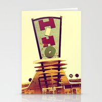 Mid-Century Strip Club S… Stationery Cards