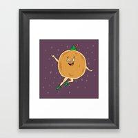 Peter Pancake Framed Art Print