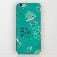 Into The Deep Jellies - … iPhone & iPod Skin