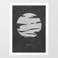 Twilight - Minimal Poste… Art Print