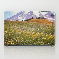 Rainier Flowers iPad Case