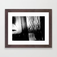 Describe Where You Are _… Framed Art Print