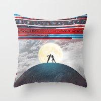 Time Has Told Me Throw Pillow
