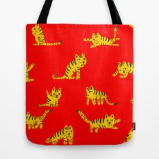 Tigrrrrs Tote Bag