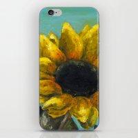 Ithaca Sunflower iPhone & iPod Skin