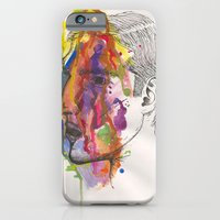 iPhone & iPod Case featuring Breathe In Colour by katieellen