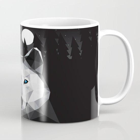 The Tundra Wolf Mug