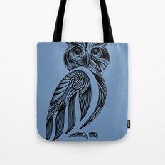 Tribal Owl Tote Bag