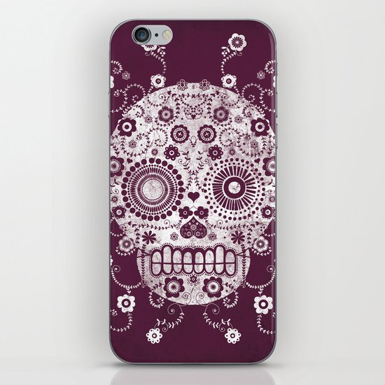 Sugar Skull iPhone & iPod Skin