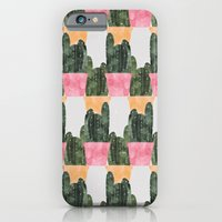 iPhone & iPod Case featuring cactus by Grace