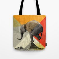 Balance Of The Pyramids Tote Bag