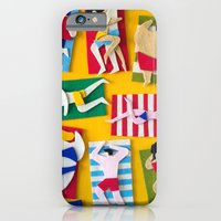 iPhone & iPod Case featuring Public Beach by Jacopo Rosati