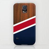 Wooden New England Galaxy S5 Slim Case