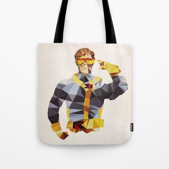 Polygon Heroes - Cyclops Tote Bag
