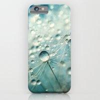 iPhone & iPod Case featuring Dandelion Starburst by Sharon Johnstone